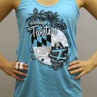 Maryland Twisters Pro-Shop - 2014 Worlds Tank Blue in New Arrivals