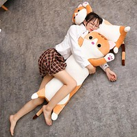 Long Cat Stuffed Animal Body Pillow Plush - 1pc 65cm/90cm Or 25.6in/35.4in