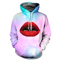 Pastel Galaxy Sexy Lips Hoodie