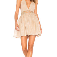 PILYQ Celeste Dress in Gold | REVOLVE