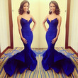Charm Women's Sexy Mermaid Long Prom Ball Cocktail Party Dress Evening Gown WXF