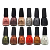 LOT of 12 China Glaze Nail Polish HUNGER GAMES Collection CAPITOL COLORS Lacquer