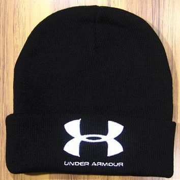 Under Armour Hip Hop Women Men Beanies Winter Knit Hat Cap-1