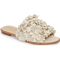 Sole Society Caelyn Embellished Flat Sandal (Wome) | Nordstrom