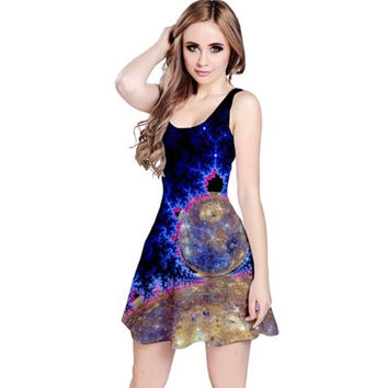 Mercury Skies Reversible Sleeveless Dress