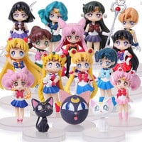 4Styles Can Choose Sailor Moon Figures With Box