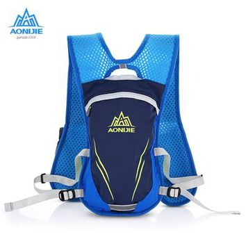 Running Vests Jogging AONIJIE NEW Marathon Outdoors Backpack Reflective Vest Bag Sport Running Cycling Bag for Unisex Safety Gear for Water Bottles KO_11_1