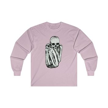 Skeleton Ultra Cotton Long Sleeve Tee