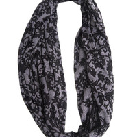 Brocade Punk Eternity Scarf | Wet Seal