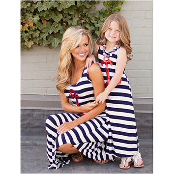 Anchored Mommy & Me Maxi Dress