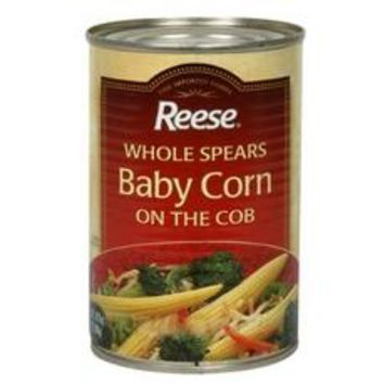 Reese Whole Spear Baby Corn On Cob (12x15Oz)