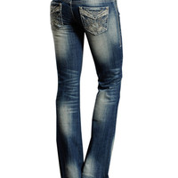 Rock & Roll Cowgirl® Ladies' Embroidered Low Rise Jeans