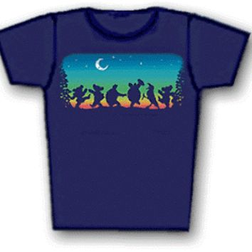 Grateful Dead - Moondance Junior's Fitted T-Shirt