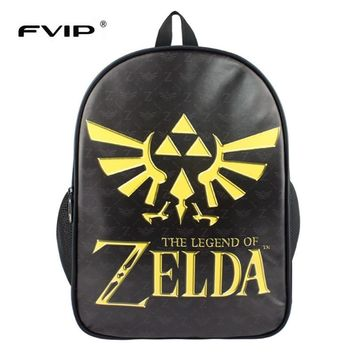 FVIP Gravity Falls/Zelda /Game of Thrones /Doctor Who / Assassins Creed/ Fairy Tail School Bags Backpack  Travel Bags   Mochila