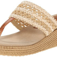 Sbicca Women's Harbor Wedge Sandal in Natural