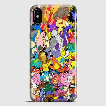 Pokemon 15 iPhone X Case