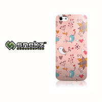 Spring Birds Pink Design iPhone 4 4s, iPhone 5/5s, Iphone 5c Hard Case Cover