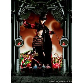 Charlie And The Chocolate Factory Poster 11 inch x 17 inch johnny depp textless 11 inch x 17 inch