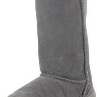 BEARPAW Women's Meadow Boot,Hickory/Champagne,8 M US