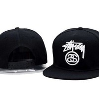 DCCKL7H Stussy Women Men Embroidery Baseball Hat Cap Sport Sun Hat