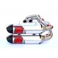 Big Gun Exhaust 13-7953 EXO Dual Full System For 2014-16 Polaris RZR 1000 XP