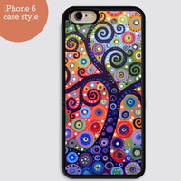 iphone 6 cover,abstract tree watercolor colorful iphone 6 plus,Feather IPhone 4,4s case,color IPhone 5s,vivid IPhone 5c,IPhone 5 case Waterproof 298