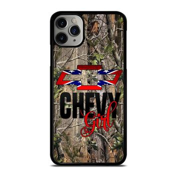 CAMO BROWNING REBEL CHEVY GIRL iPhone Case Cover