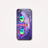 Alice Wonderland Cheshire Cat - Photo on Hard case, for iPhone and Samsung Galaxy. Choose the option for device and colour case