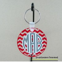Personalized Monogrammed Acrylic Keychain- You choose the pattern from SimpleXpressions-Personalized!