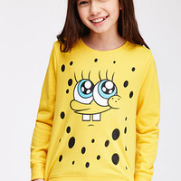 SpongeBob Close-Up Graphic Sweatshirt (Kids)