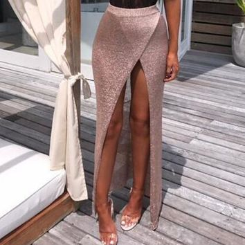 Fashion Tulle Skirt Women Casual Long Skirt 2018 New Summer Sexy High Waist Pencil Skirts Clothing For Women Elegance Female