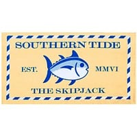 Skipjack Beach Towel in Yellow by Southern Tide