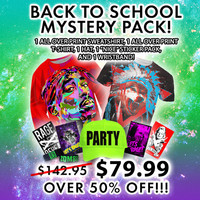 BACK TO SCHOOL MYSTERY PACK