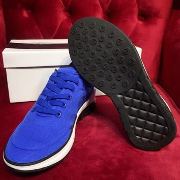 DCCK 1635 CHANNEL Comfortable Casual Sports Shoes Blue