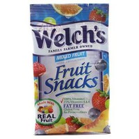 WELCH'S MIXED FRUIT SNACKS 0.9 OZ