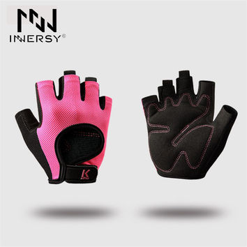 Innersy Half Finger Fitness Workout Running Gloves Sport Gloves Man&Women Outdoor Multi-function Exercise Training Glove Jzh46