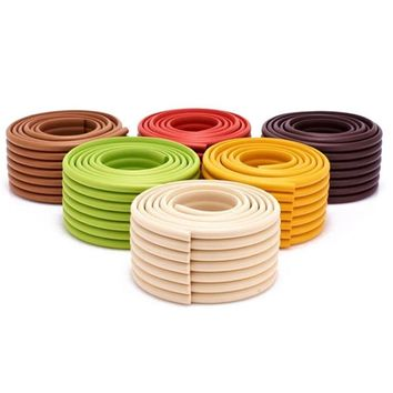 Table Edge Furniture Guard Strip Horror Crash Bar Foam Bumper Baby Safety Products Protection 2m