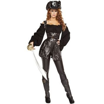 Blackbeard's Mistress Halloween Costume