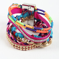 Braided Mixture Bracelet