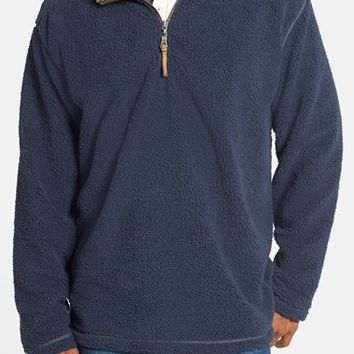 Men's True Grit 'Pebble Pile' Half Zip Fleece Pullover