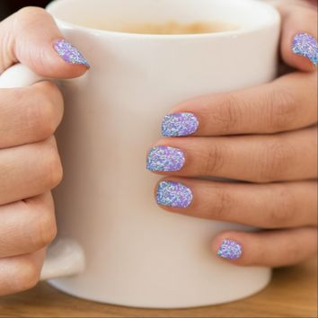 Minx Nails Glitter Graphic