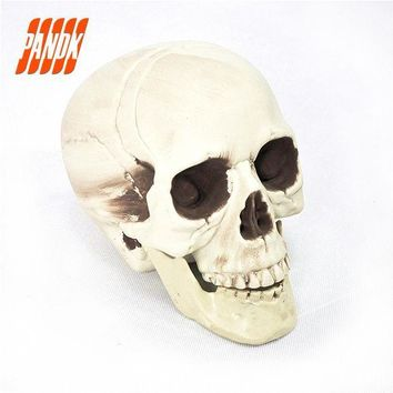 ESBONHS Halloween Skull Bones Life Size Realistic Skull Haunted House Escape Horror Props Decorations Holiday Props Free Shipping