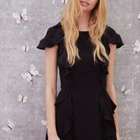 Mockingbird Ruffled Mini Dress