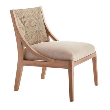 Bleached Teak Lounge Chair - NEW
