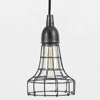 4040 Locust Industrial Wire Pendant- Carbon One