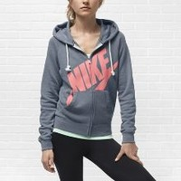 Check it out. I found this Nike Rally Signal Full-Zip Women's Hoodie at Nike online.