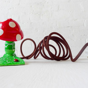 10% SALE Alice's Mushroom Dream Night Light Vintage Lamp Clip