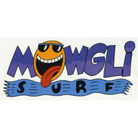 Mowgli Surf Happy Dazel Sticker Multi One Size For Men 25294095701