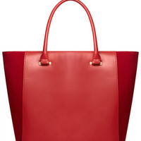 Red clean wing bag