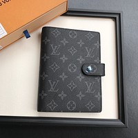 LV Louis Vuitton MONOGRAM CANVAS NOTE BOOK